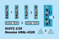 Trumpeter 1/35 Russian URAL-4320 # 01072